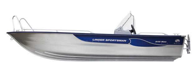 linder sportsman 445 max-meny