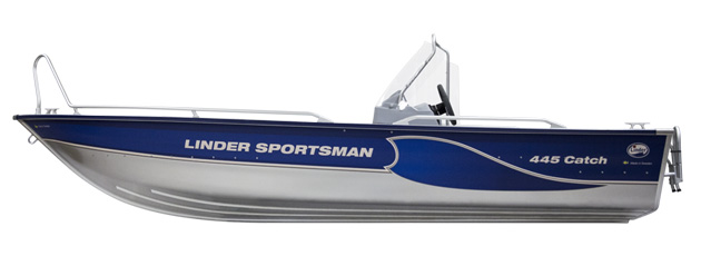 linder sportsman 445catch-meny